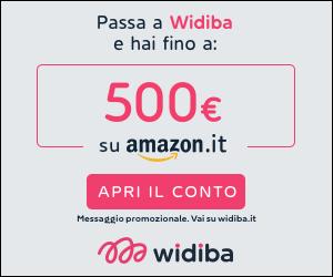 Conto Deposito Widiba, offerta Amazon