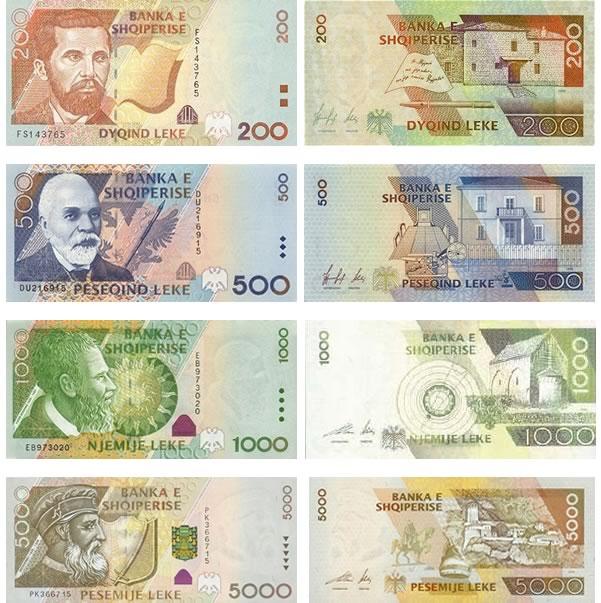 Lek-Albanese-banconote