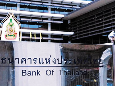 Banca Centrale della Thailandia, BOT, Bank of Thailand