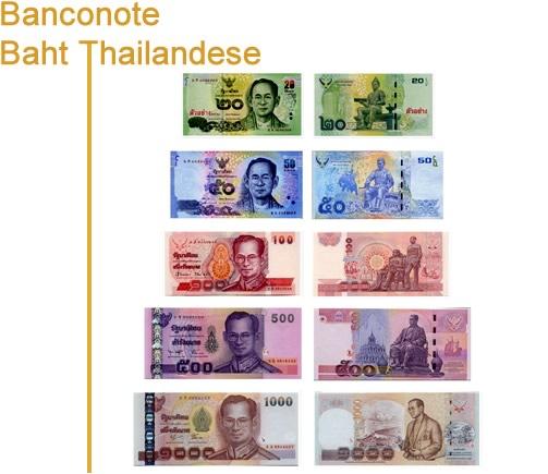 Banconote Baht Thailandese