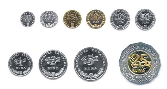 Monete della kuna croata