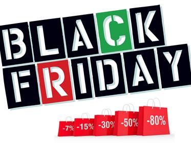 Black Friday Italia 2017 e Cyber Monday: due giorni di sconti e offerte