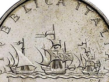 Lire Italiane Rare e di valore: 5 lire 1953 e 1956, 10 lire 1947, 20 lire, 100 lire 1955, 500 lire 1957