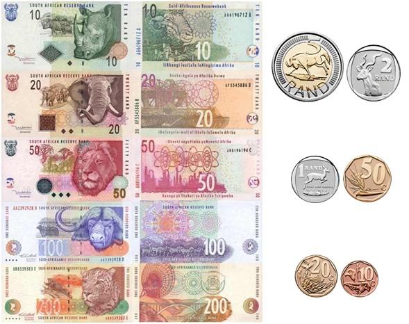 Rand del Sud Africa
