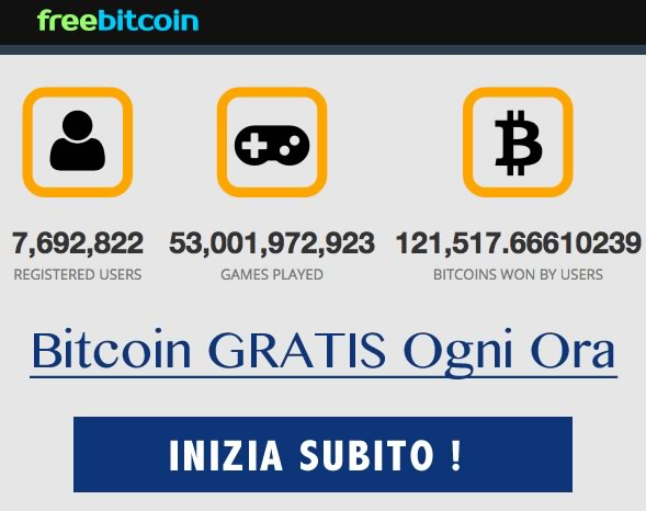 Minare Bitcoingratis con freebitco.in