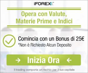 Apri un conto con iForex