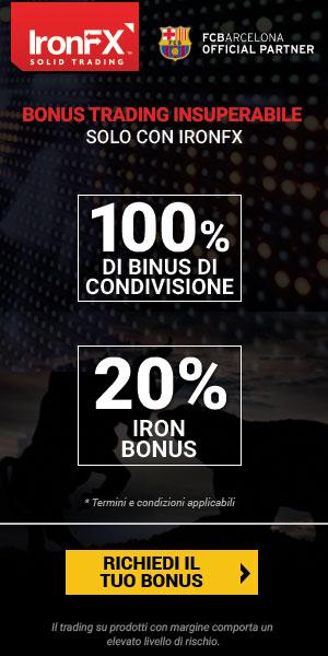 Apri un conto con IronFX