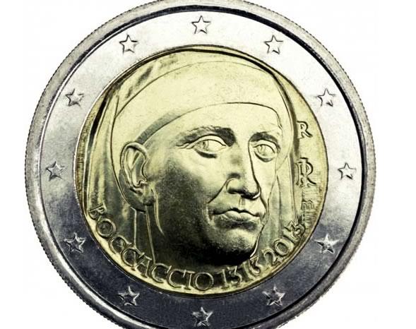 Monete commemorative Boccaccio 2013