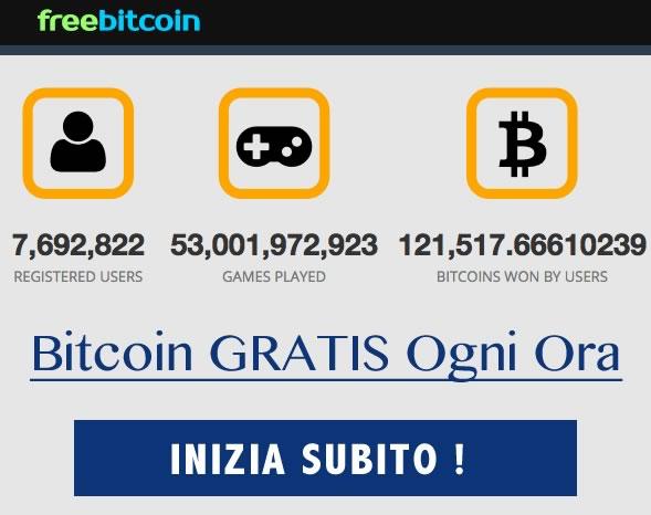 Minare Bitcoingratis con freebitco.in