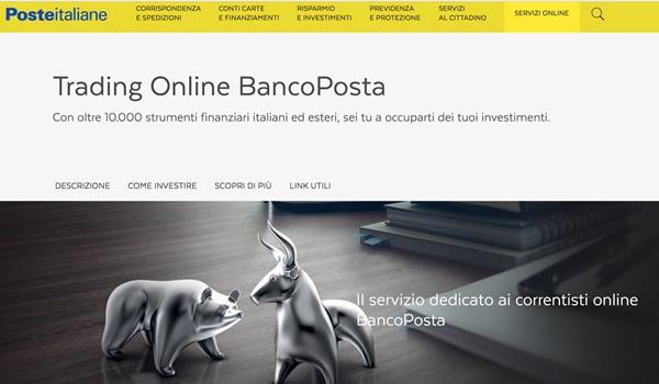 Trading online con BancoPosta