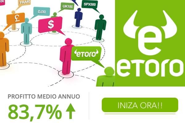 investire con il Copy Trading di eToro