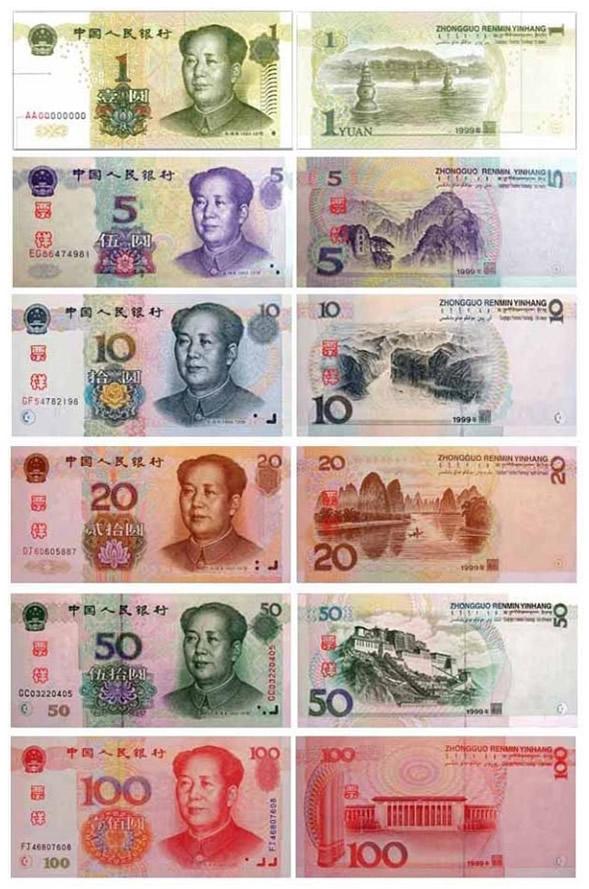 Renminbi-Cinese-Banconote