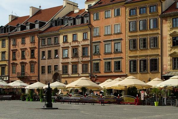 Centro storico di Varsavia, Polonia