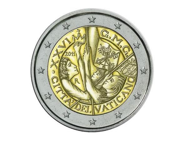 Monete Commemorative Giornata Mondiale della Gioventù 2011
