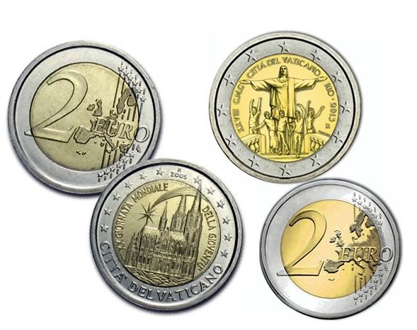 Monete Commemorative Giornata Mondiale della Gioventù