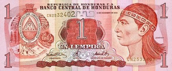 Lempira del Honduras