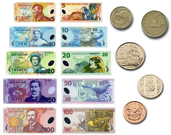 Moneta della Nuova Zelanda: Dollaro neozelandese