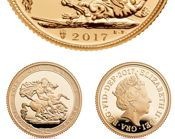 Sterlina d'oro, disponibile in acquisto su eBay
