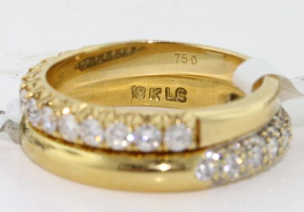 Caratura di un anello in oro