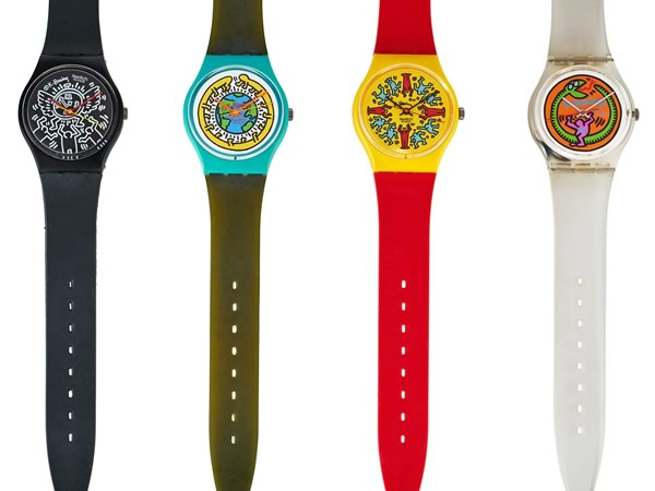 Keith Haring Special Edition swatch