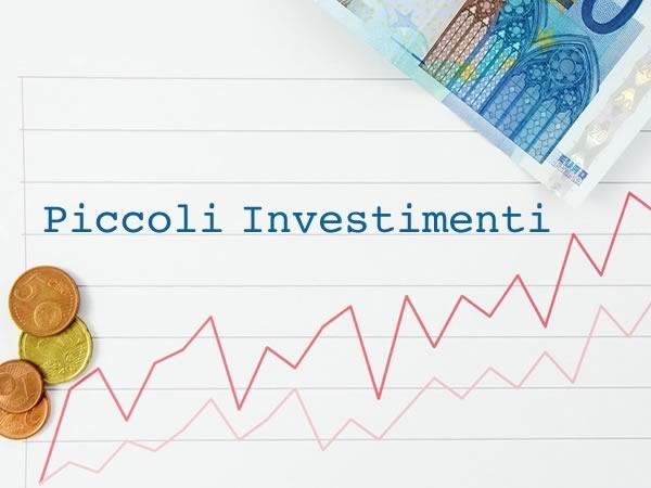 Piccoli investimenti: come investire piccole somme