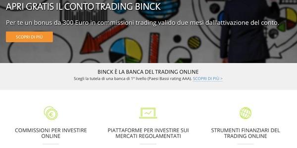 Binck Bank, la migliore banca per il trading online