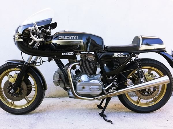 Ducati 900 SuperSport d'epoca